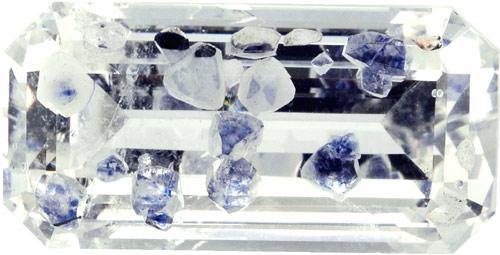 Quartz with fluorite