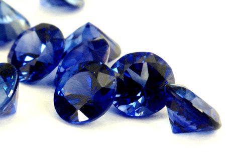 Sapphire (blue - round calibrated)