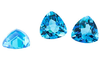 Topaz (Swiss blue- treated)