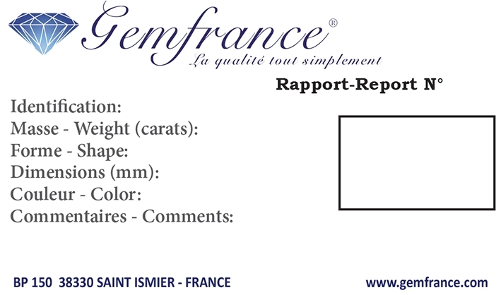 Certificat Gemfrance
