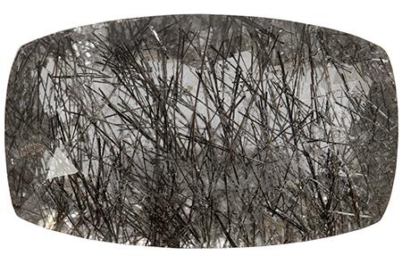 Quartz - tourmaline noire - 14.09ct