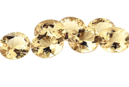Citrine ovale 8x6 claire