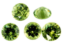 Garnet -  Demantoid (Namibia)