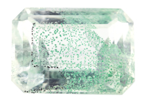 Quartz with fuchsite