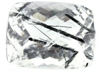 Quartz with tourmaline