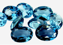 Topaz (London Blue- treated)