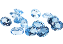 Topaz (Sky Blue- treated)