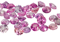 Sapphire (pink - round - calibrated) 2.50mm