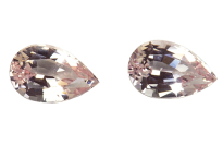 Morganite pair