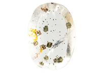 Quartz à inclusions de pyrite 22.54ct