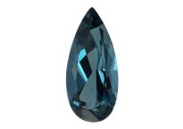 Topaze bleue London Blue calibrée 12.35ct (traitée)