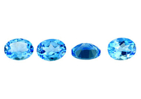 Topaz (Swiss blue- treated)